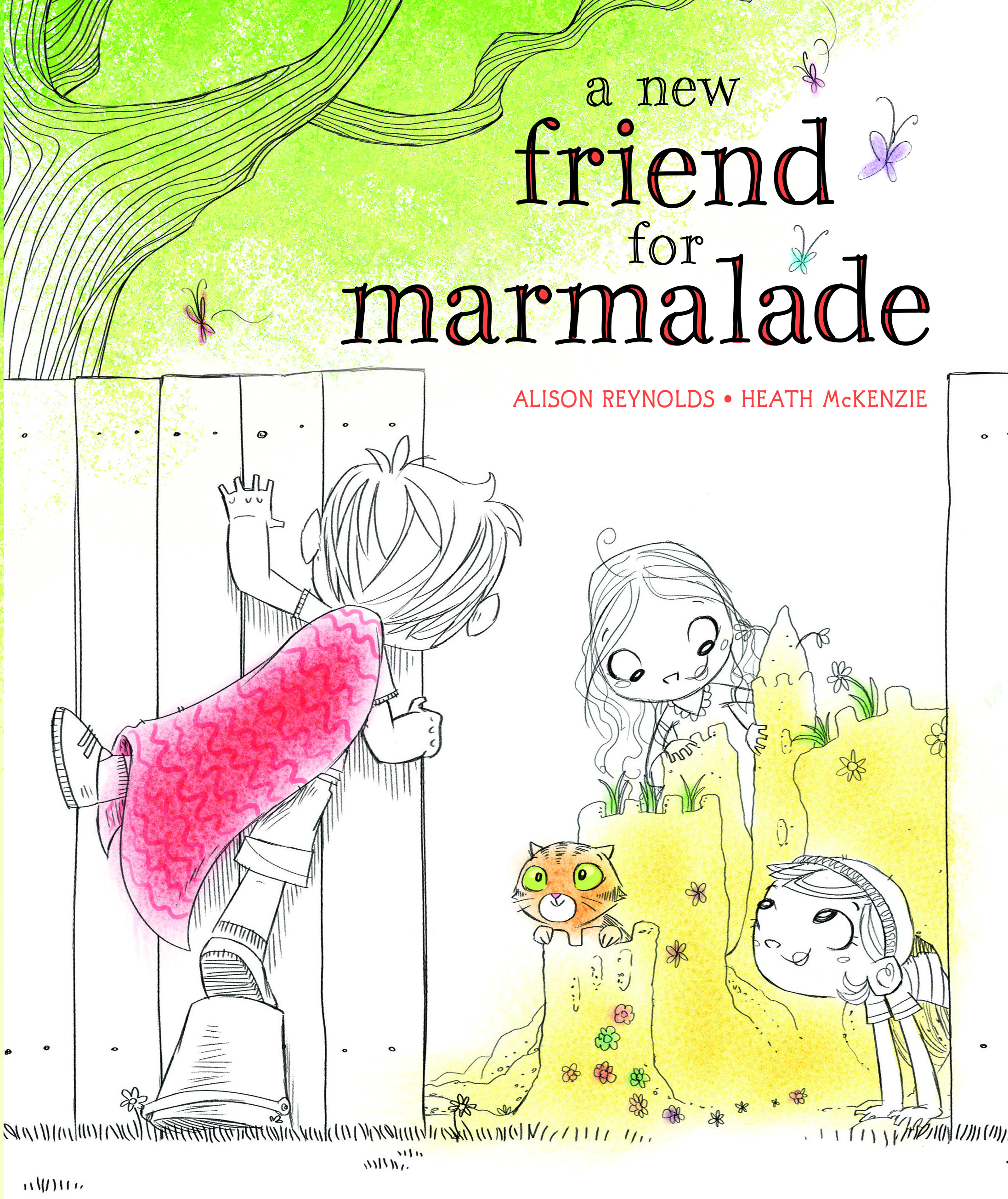 A New Friend For Marmalade US